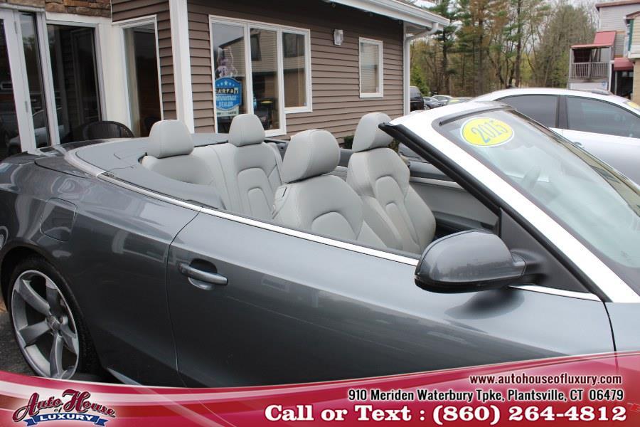 Used Audi A5 2dr Cabriolet Auto quattro 2.0T Premium Plus 2015 | Auto House of Luxury. Plantsville, Connecticut