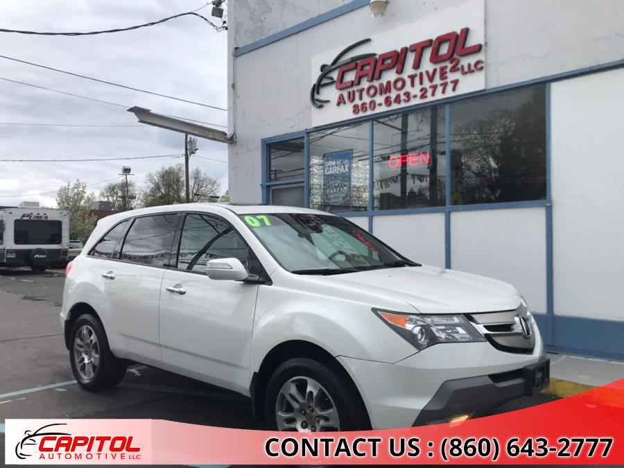 Used 2007 Acura MDX in Manchester, Connecticut | Capitol Automotive 2 LLC. Manchester, Connecticut
