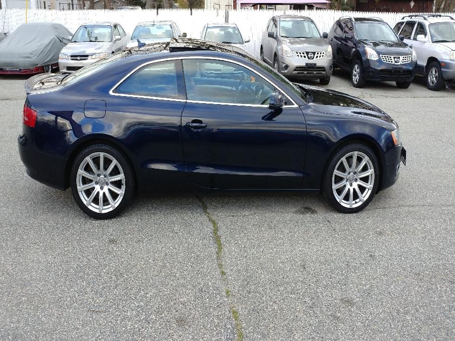 Used Audi A5 2dr Cpe Auto quattro 2.0T Prestige 2011   Matts Auto Mall LLC. Chicopee, Massachusetts