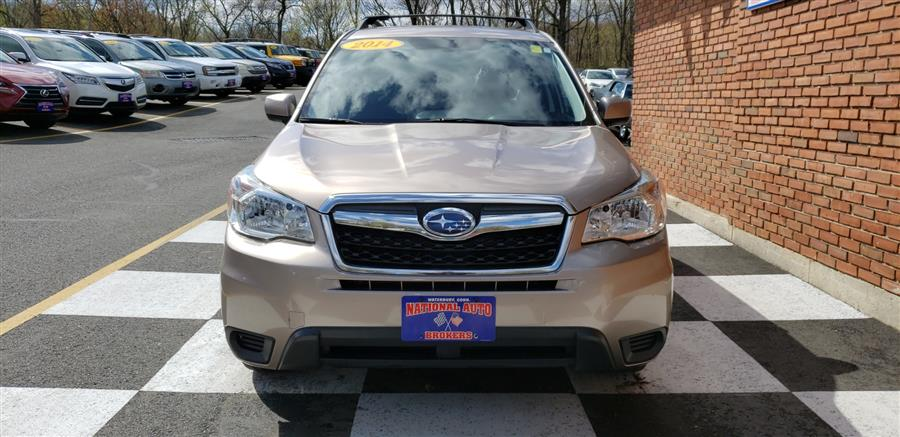 2014 Subaru Forester 4dr Man 2.5i Premium PZEV, available for sale in Waterbury, Connecticut | National Auto Brokers, Inc.. Waterbury, Connecticut