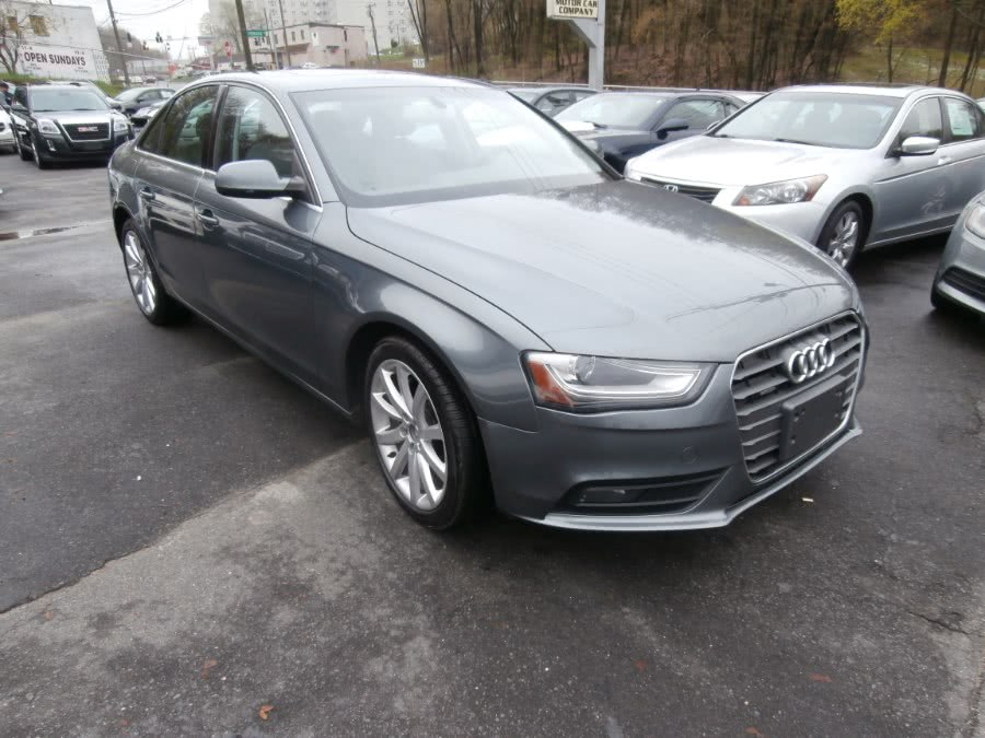 Used 2013 Audi A4 in Waterbury, Connecticut | Jim Juliani Motors. Waterbury, Connecticut
