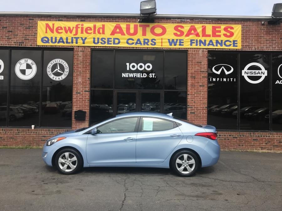 2013 Hyundai Elantra 4dr Sdn Man GLS *Ltd Avail*, available for sale in Middletown, Connecticut | Newfield Auto Sales. Middletown, Connecticut