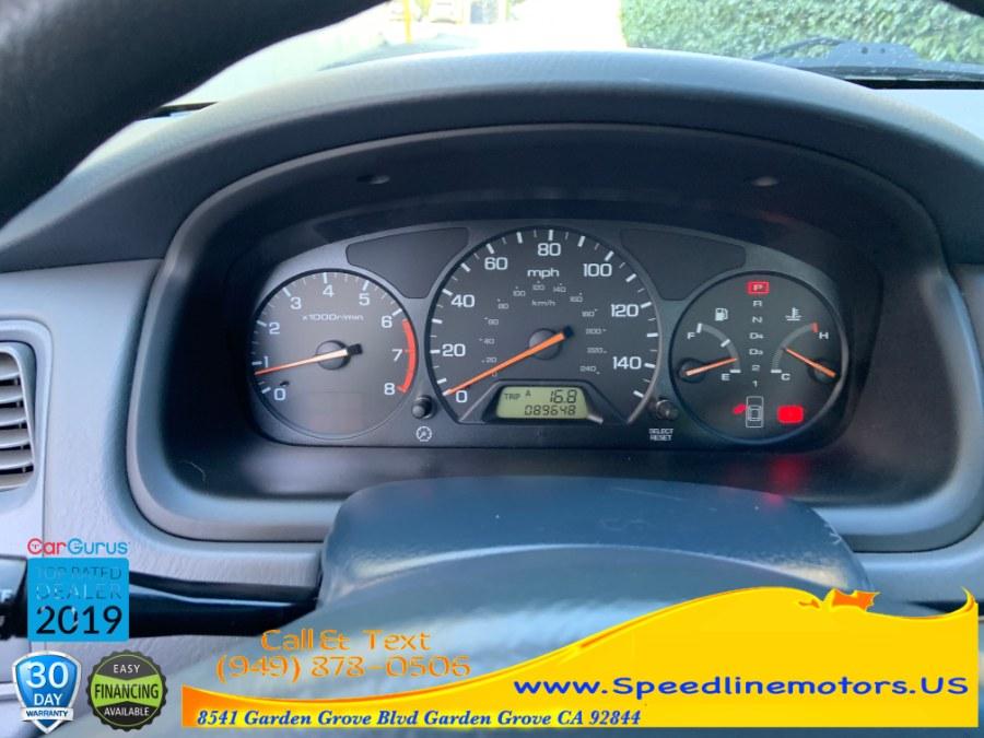 2002 Honda Accord Sdn LX Auto ULEV, available for sale in Garden Grove, California | Speedline Motors. Garden Grove, California
