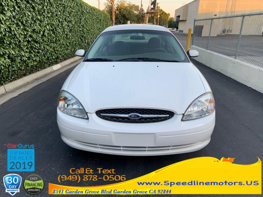 2001 Ford Taurus 4dr Sdn SES, available for sale in Garden Grove, California | Speedline Motors. Garden Grove, California