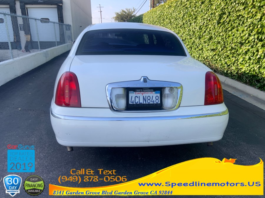 1998 Lincoln Town Car 4dr Sdn Cartier, available for sale in Garden Grove, California | Speedline Motors. Garden Grove, California
