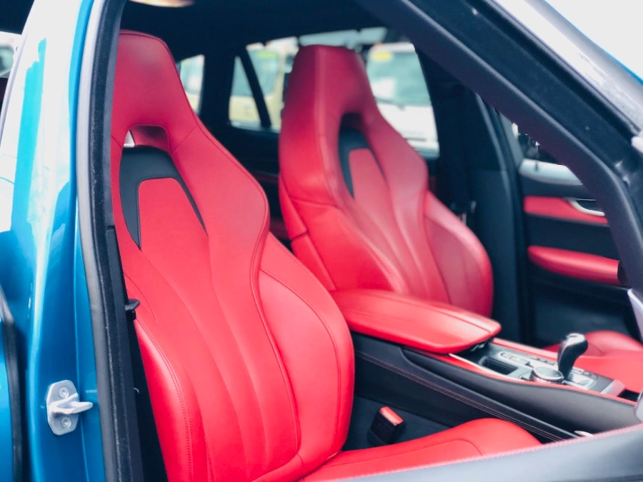2015 BMW X6 M Sport Blue/Red Stage 2 Extras X DRIVE, available for sale in South Amboy, New Jersey | NJ Truck Spot. South Amboy, New Jersey