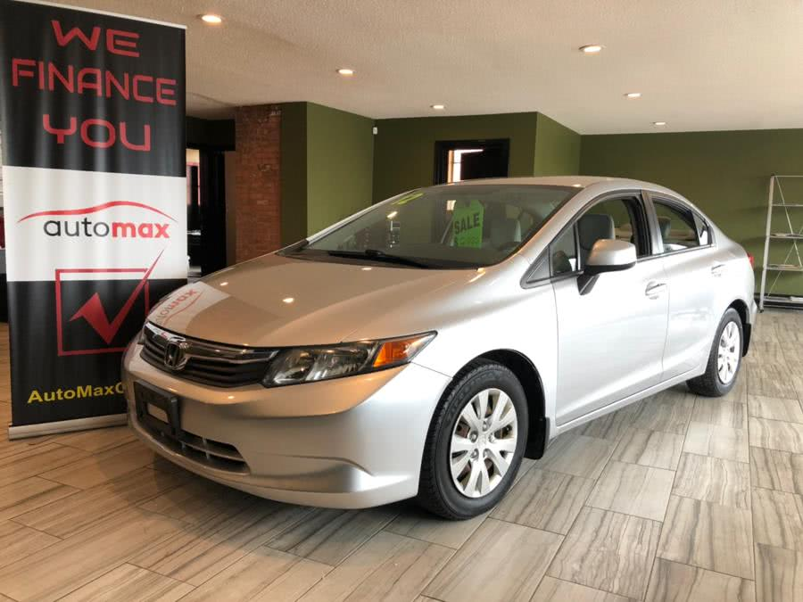 Used 2012 Honda Civic Sdn in West Hartford, Connecticut | AutoMax. West Hartford, Connecticut