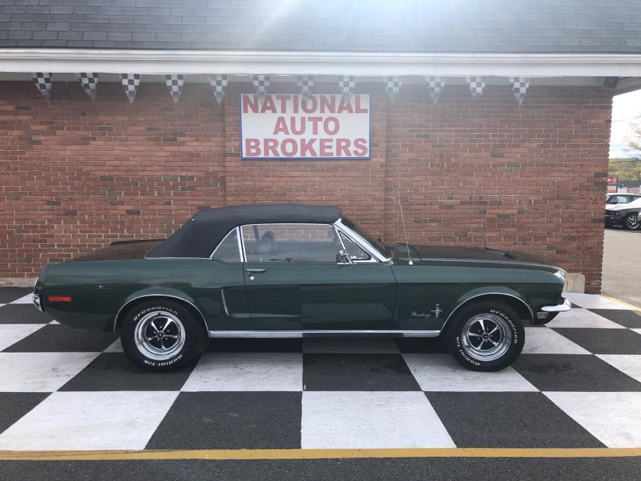 1968 Ford Mustang Mustang Convertible, available for sale in Waterbury, Connecticut | National Auto Brokers, Inc.. Waterbury, Connecticut