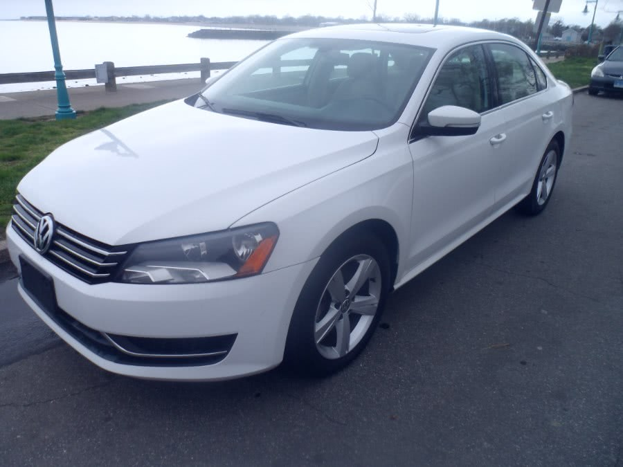 2012 Volkswagen Passat 4dr Sdn 2.0L  TDI SE, available for sale in Bridgeport, Connecticut | Hurd Auto Sales. Bridgeport, Connecticut