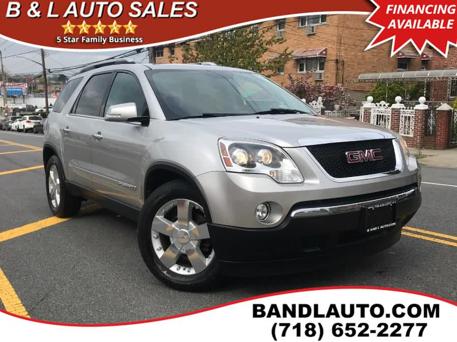 Used 2007 GMC Acadia in Bronx, New York | B & L Auto Sales LLC. Bronx, New York