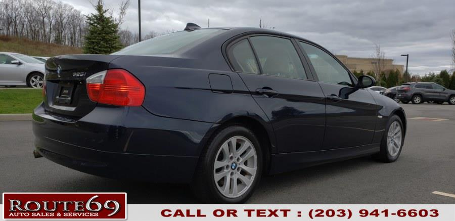 2006 BMW 3 Series 325i 4dr Sdn RWD South Africa, available for sale in Prospect, Connecticut | Rt 69 Auto Sales & Service. Prospect, Connecticut