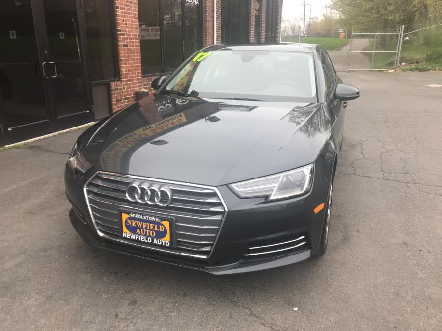 Used 2017 Audi A4 in Middletown, Connecticut | Newfield Auto Sales. Middletown, Connecticut