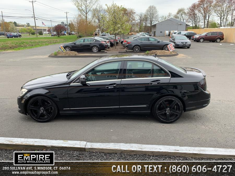 2008 Mercedes-Benz C-Class 4dr Sdn 3.0L Sport RWD, available for sale in S.Windsor, Connecticut | Empire Auto Wholesalers. S.Windsor, Connecticut