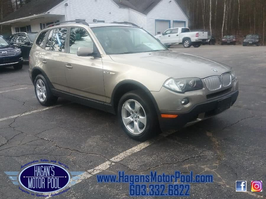2007 BMW X3 AWD 4dr 3.0si, available for sale in Rochester, New Hampshire | Hagan's Motor Pool. Rochester, New Hampshire