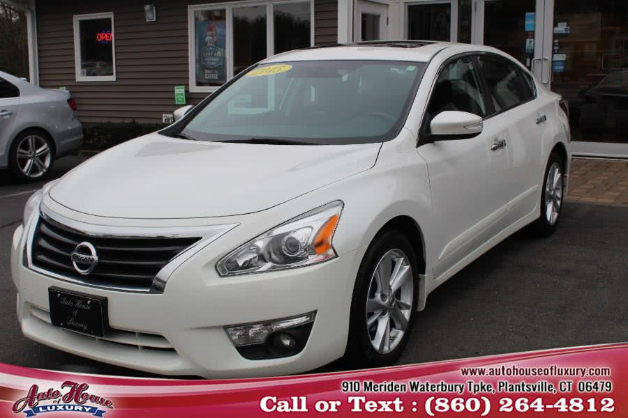 Used 2015 Nissan Altima in Plantsville, Connecticut | Auto House of Luxury. Plantsville, Connecticut