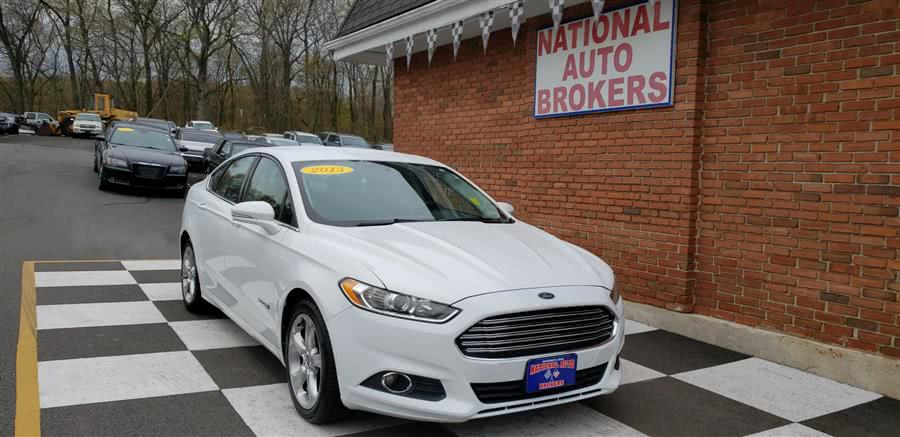 Used Ford Fusion SE 4dr Sdn Hybrid FWD 2013 | National Auto Brokers, Inc.. Waterbury, Connecticut