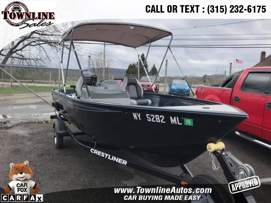 Used 2016 CRESTLINER 1650 FISH HAWK in Wolcott, New York | Townline Sales LLC. Wolcott, New York