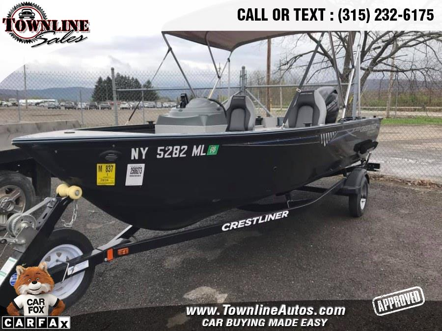 Used CRESTLINER 1650 FISH HAWK FISH HAWK 2016 | Townline Sales LLC. Wolcott, New York