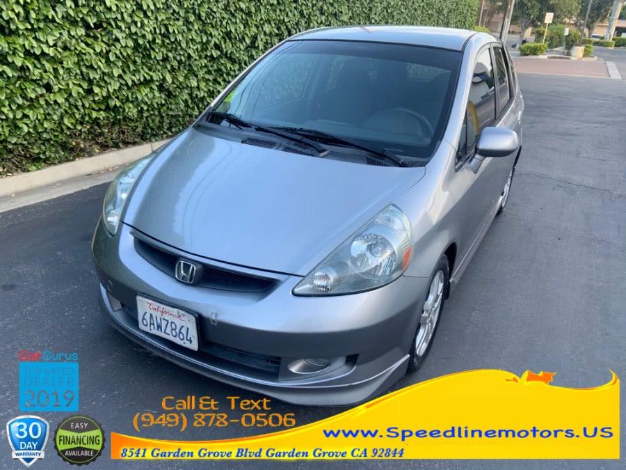 Used 2007 Honda Fit in Garden Grove, California | Speedline Motors. Garden Grove, California