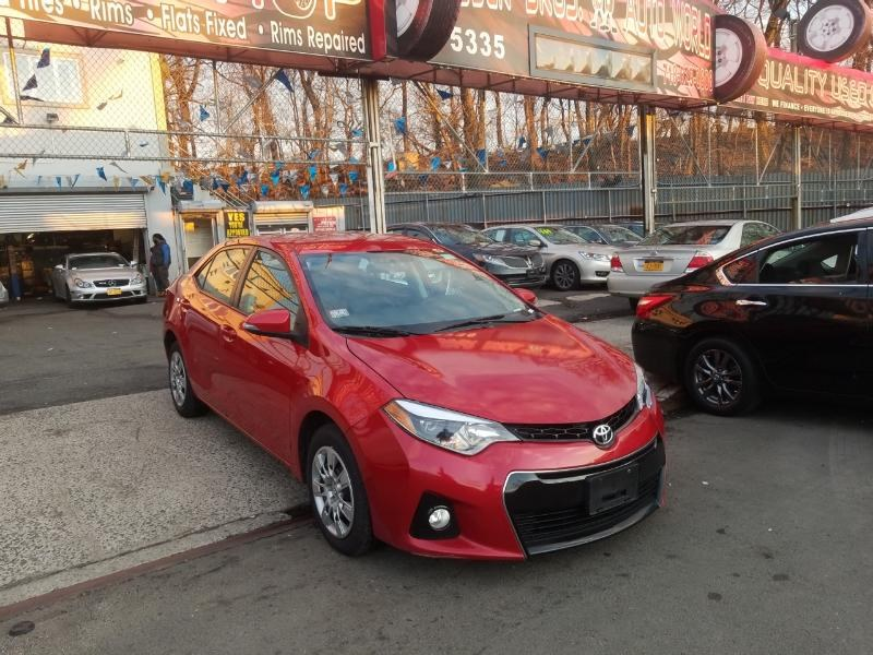2016 Toyota Corolla 4dr Sdn Man S Plus (Natl), available for sale in Brooklyn, New York | Rubber Bros Auto World. Brooklyn, New York