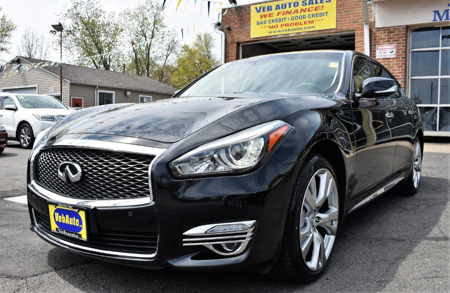2015 Infiniti Q70L 4dr Sdn V6 AWD, available for sale in Hartford, Connecticut | VEB Auto Sales. Hartford, Connecticut