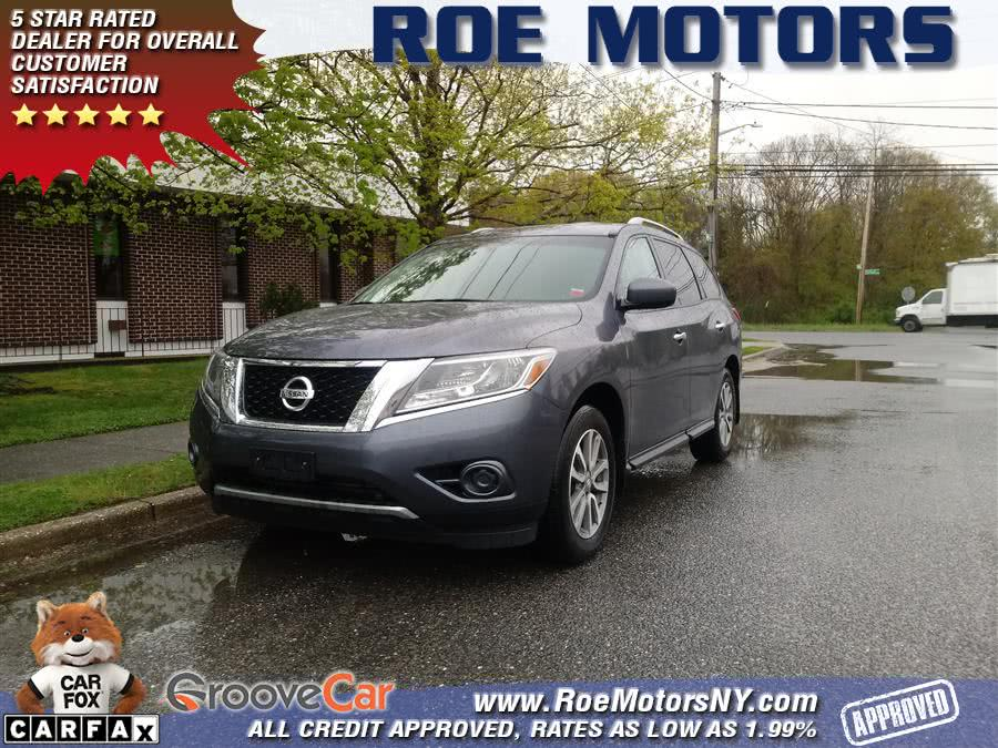 2014 Nissan Pathfinder 4WD 4dr S, available for sale in Shirley, New York | Roe Motors Ltd. Shirley, New York