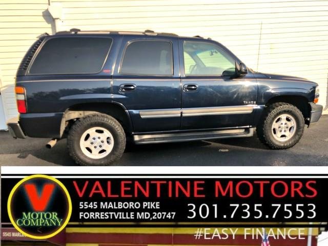 2005 Chevrolet Tahoe LT, available for sale in Forestville, Maryland | Valentine Motor Company. Forestville, Maryland