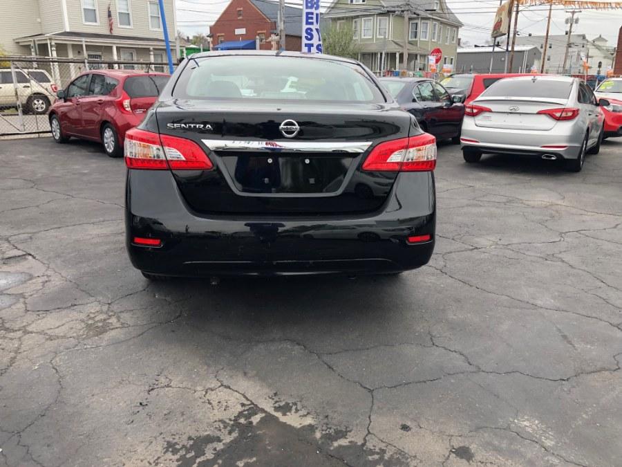 2015 Nissan Sentra 4dr Sdn I4 CVT S, available for sale in Bridgeport, Connecticut   Affordable Motors Inc. Bridgeport, Connecticut