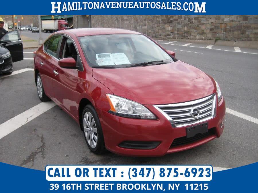 Used Nissan Sentra 4dr Sdn I4 CVT SV 2013 | Hamilton Avenue Auto Sales DBA Nyautoauction.com. Brooklyn, New York