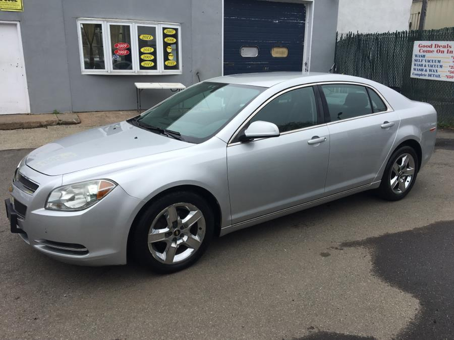 2010 Chevrolet Malibu 4dr Sdn LT w/1LT, available for sale in Meriden, Connecticut | Cos Central Auto. Meriden, Connecticut