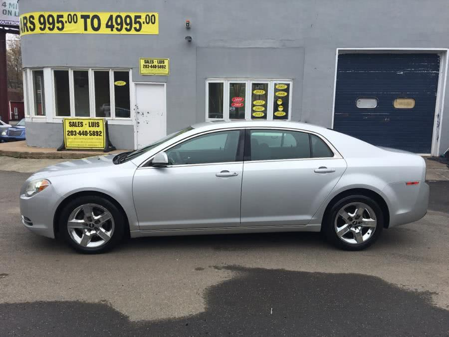 Used Chevrolet Malibu 4dr Sdn LT w/1LT 2010 | Cos Central Auto. Meriden, Connecticut