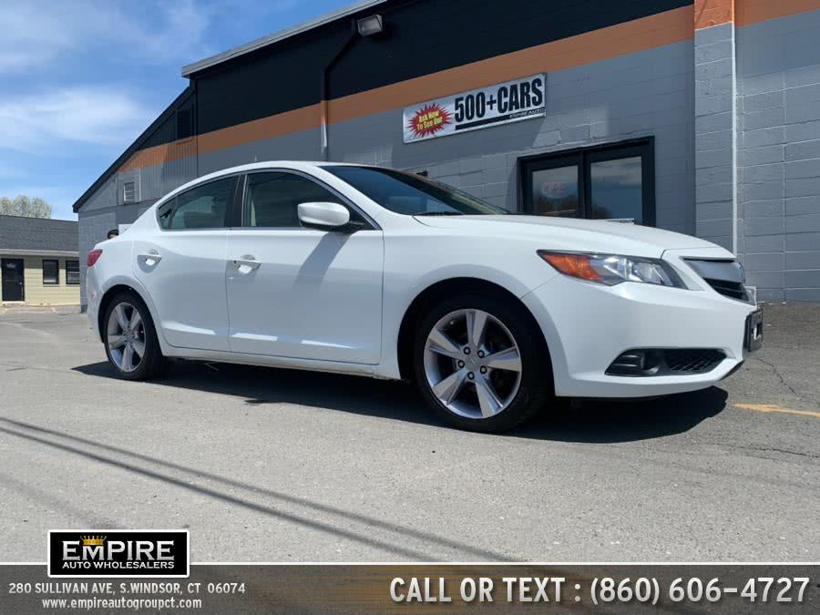 Used Acura ILX 4dr Sdn 2.0L Premium Pkg 2014 | Empire Auto Wholesalers. S.Windsor, Connecticut