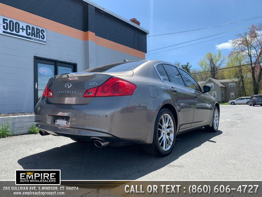 2011 Infiniti G37 Sedan 4dr x AWD, available for sale in S.Windsor, Connecticut | Empire Auto Wholesalers. S.Windsor, Connecticut