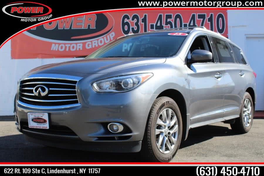 2015 INFINITI QX60 AWD 4dr, available for sale in Lindenhurst , New York | Power Motor Group. Lindenhurst , New York