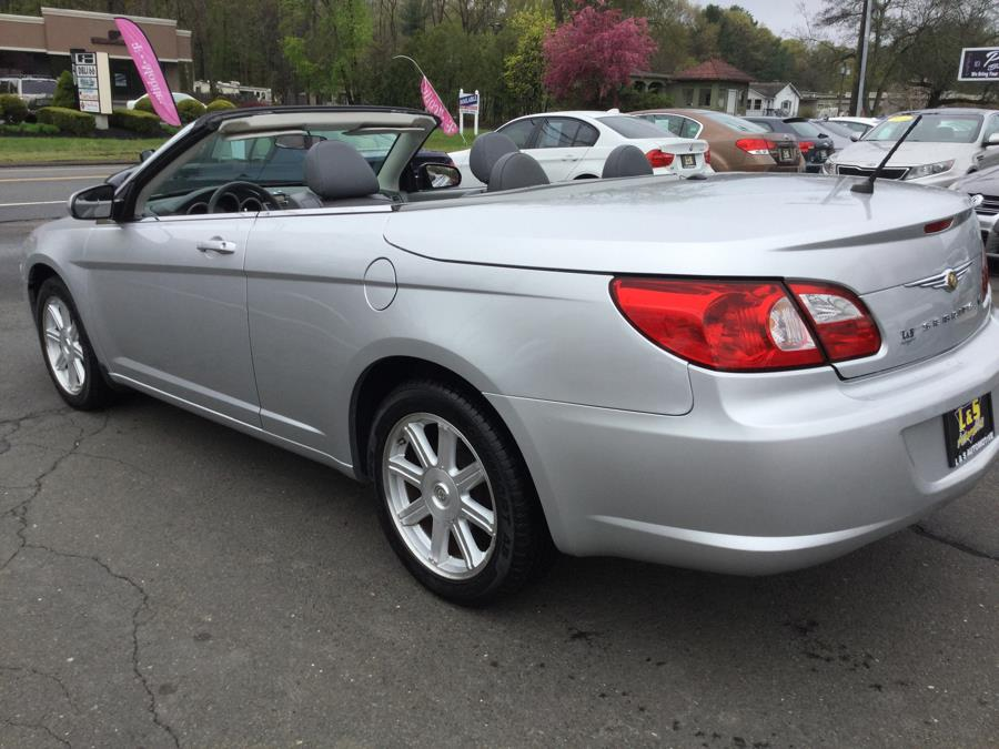 2008 Chrysler Sebring 2dr Conv Touring FWD, available for sale in Plantsville, Connecticut | L&S Automotive LLC. Plantsville, Connecticut