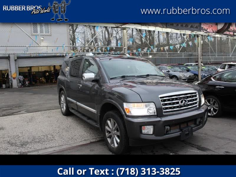 2008 Infiniti QX56 4WD 4dr, available for sale in Brooklyn, New York | Rubber Bros Auto World. Brooklyn, New York