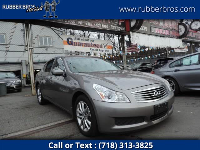 Used 2009 Infiniti G37 Sedan in Brooklyn, New York | Rubber Bros Auto World. Brooklyn, New York
