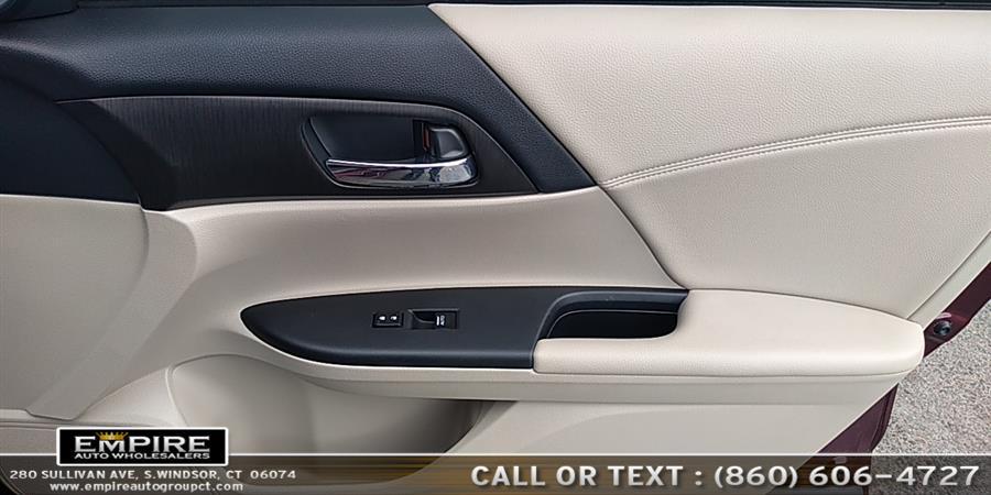 2015 Honda Accord Sedan 4dr I4 CVT EX-L w/Navi, available for sale in S.Windsor, Connecticut | Empire Auto Wholesalers. S.Windsor, Connecticut