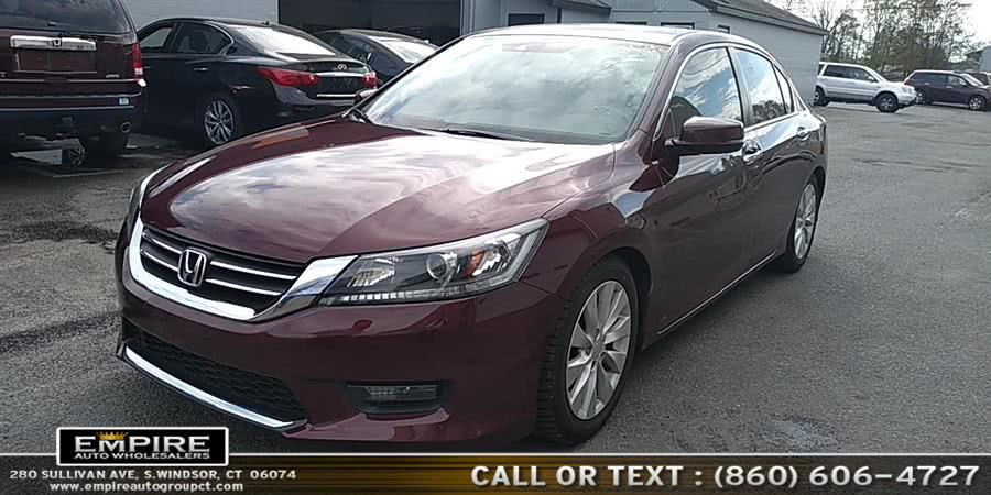Used Honda Accord Sedan 4dr I4 CVT EX-L w/Navi 2015 | Empire Auto Wholesalers. S.Windsor, Connecticut
