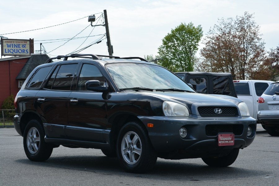 2004 Hyundai Santa Fe 4dr GLS 2WD Auto 3.5L V6, available for sale in ENFIELD, Connecticut | Longmeadow Motor Cars. ENFIELD, Connecticut