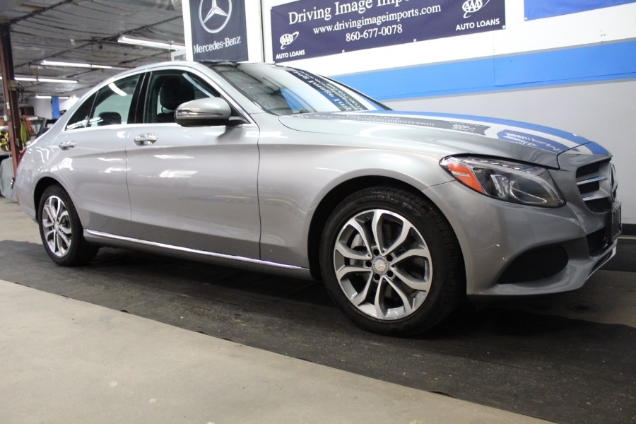 2016 Mercedes-Benz C-Class 4dr Sdn C300 Sport 4MATIC, available for sale in Farmington, Connecticut | Driving Image Imports LLC. Farmington, Connecticut