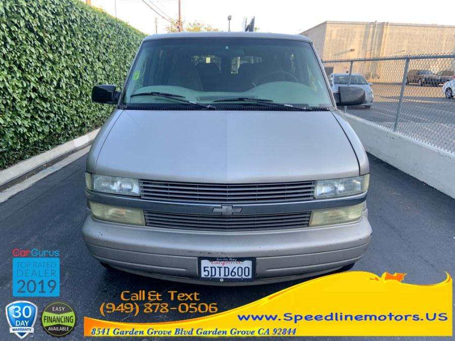 2003 Chevrolet Astro Passenger Ext 111