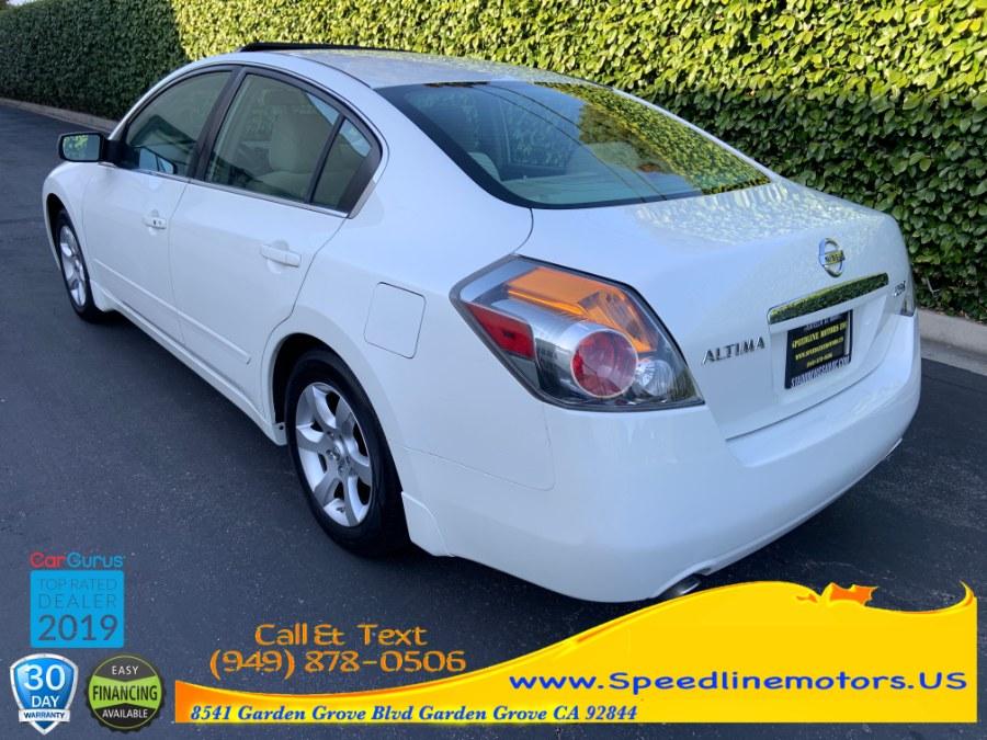 2008 Nissan Altima 4dr Sdn I4 CVT 2.5 S, available for sale in Garden Grove, California | Speedline Motors. Garden Grove, California
