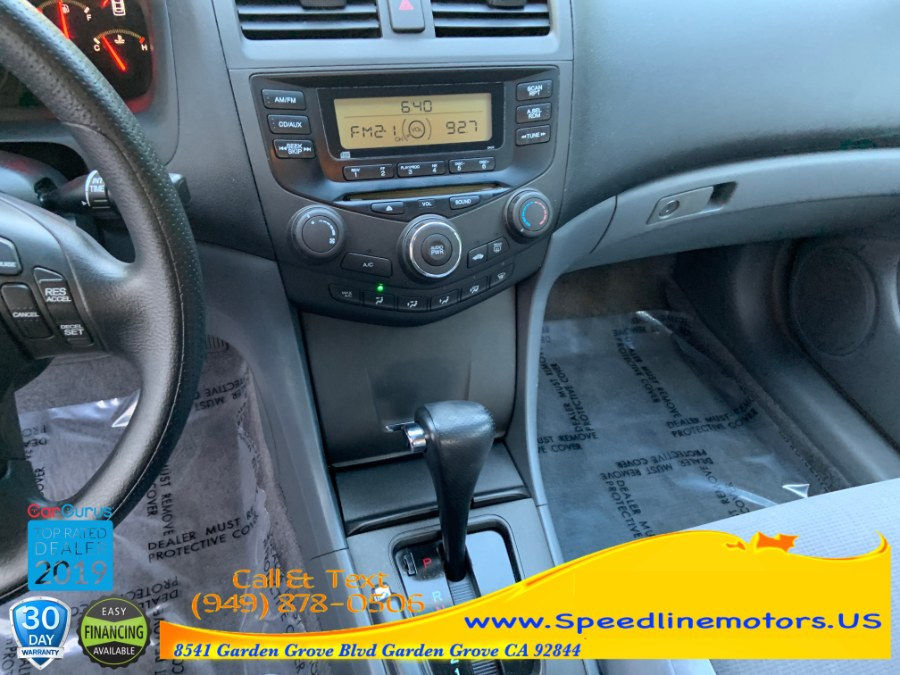 2004 Honda Accord Sdn LX Auto PZEV w/Side Airbags, available for sale in Garden Grove, California | Speedline Motors. Garden Grove, California