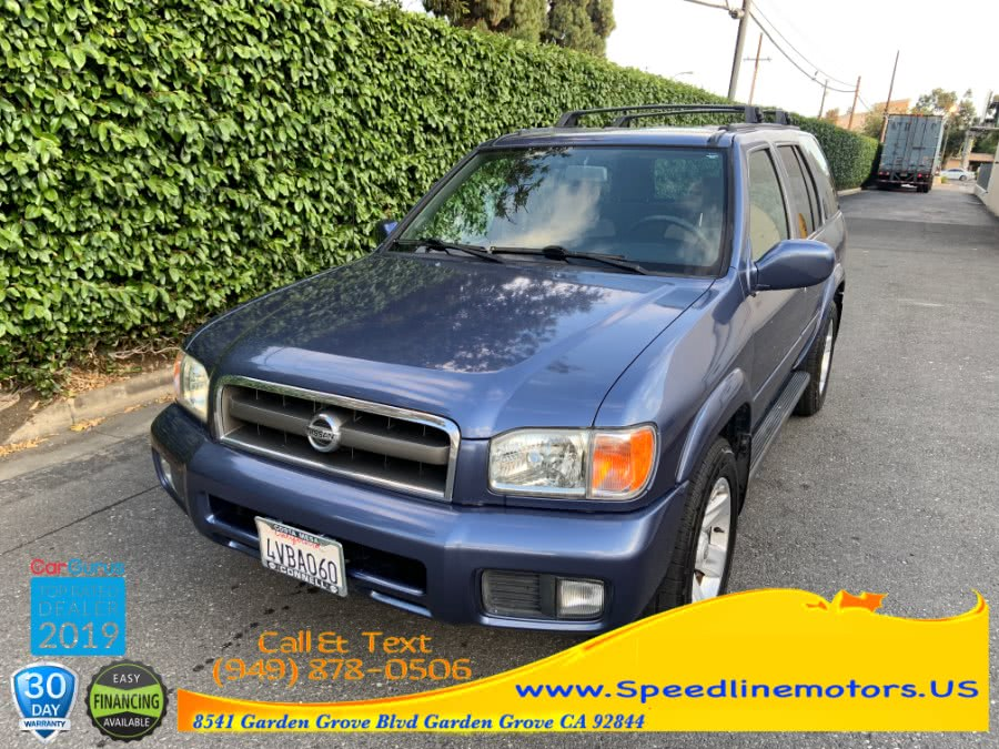 2002 Nissan Pathfinder LE 2WD Auto, available for sale in Garden Grove, California | Speedline Motors. Garden Grove, California