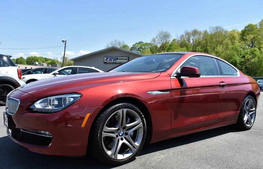 2014 BMW 6 Series 2dr Cpe 650i xDrive AWD, available for sale in Berlin, Connecticut | Tru Auto Mall. Berlin, Connecticut