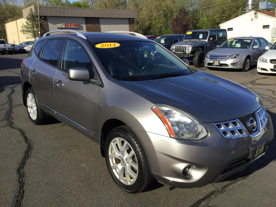 2011 Nissan Rogue AWD 4dr SL, available for sale in Plantsville, Connecticut | L&S Automotive LLC. Plantsville, Connecticut