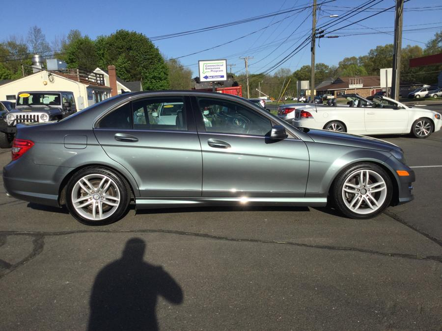 2012 Mercedes-Benz C-Class 4dr Sdn C300 Sport 4MATIC, available for sale in Plantsville, Connecticut | L&S Automotive LLC. Plantsville, Connecticut