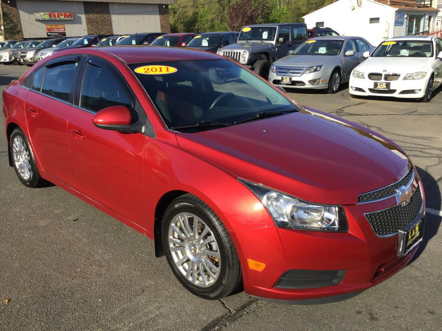 2011 Chevrolet Cruze 4dr Sdn ECO w/1XF, available for sale in Plantsville, Connecticut | L&S Automotive LLC. Plantsville, Connecticut
