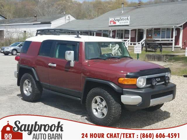 2008 Toyota FJ Cruiser 4WD 4dr Auto (Natl), available for sale in Old Saybrook, CT